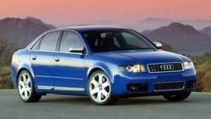 Audi S4 третья модификация.
