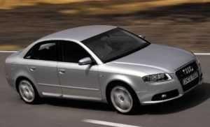 Audi S4 четвёртая модификация.