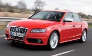 Audi S4 пятая модификация.