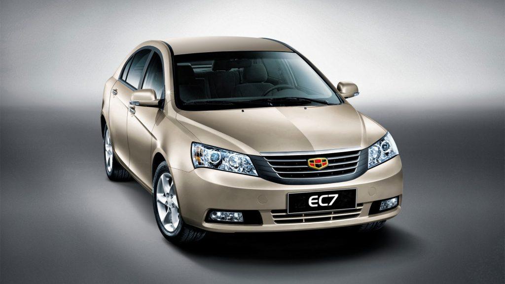 Китайское авто Джили.
