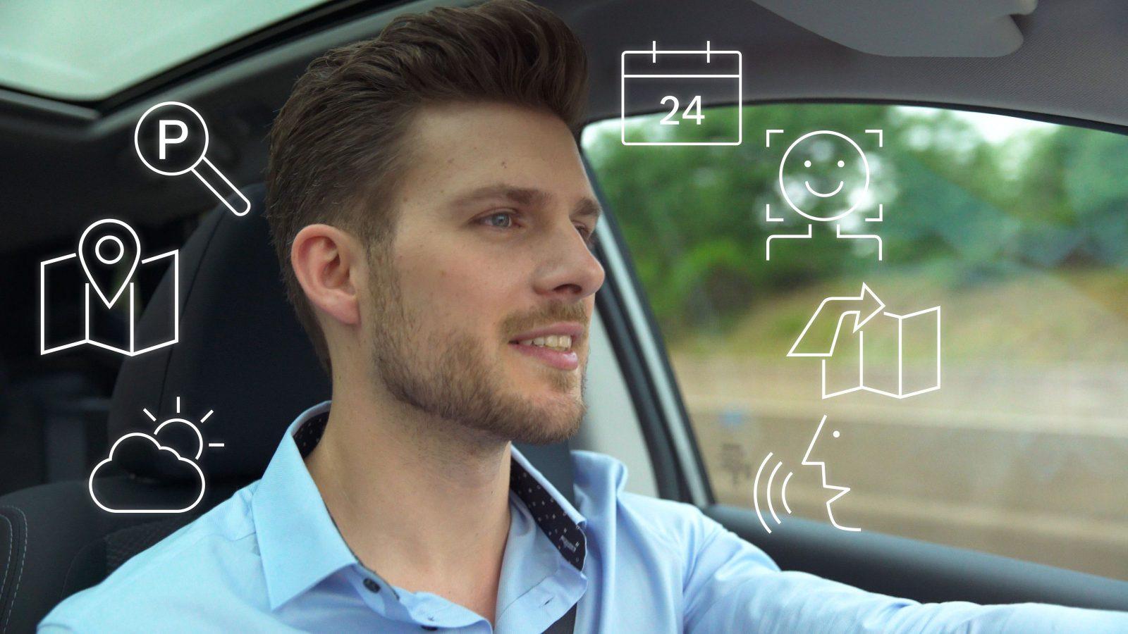 Голосовое управление автомобилем.
