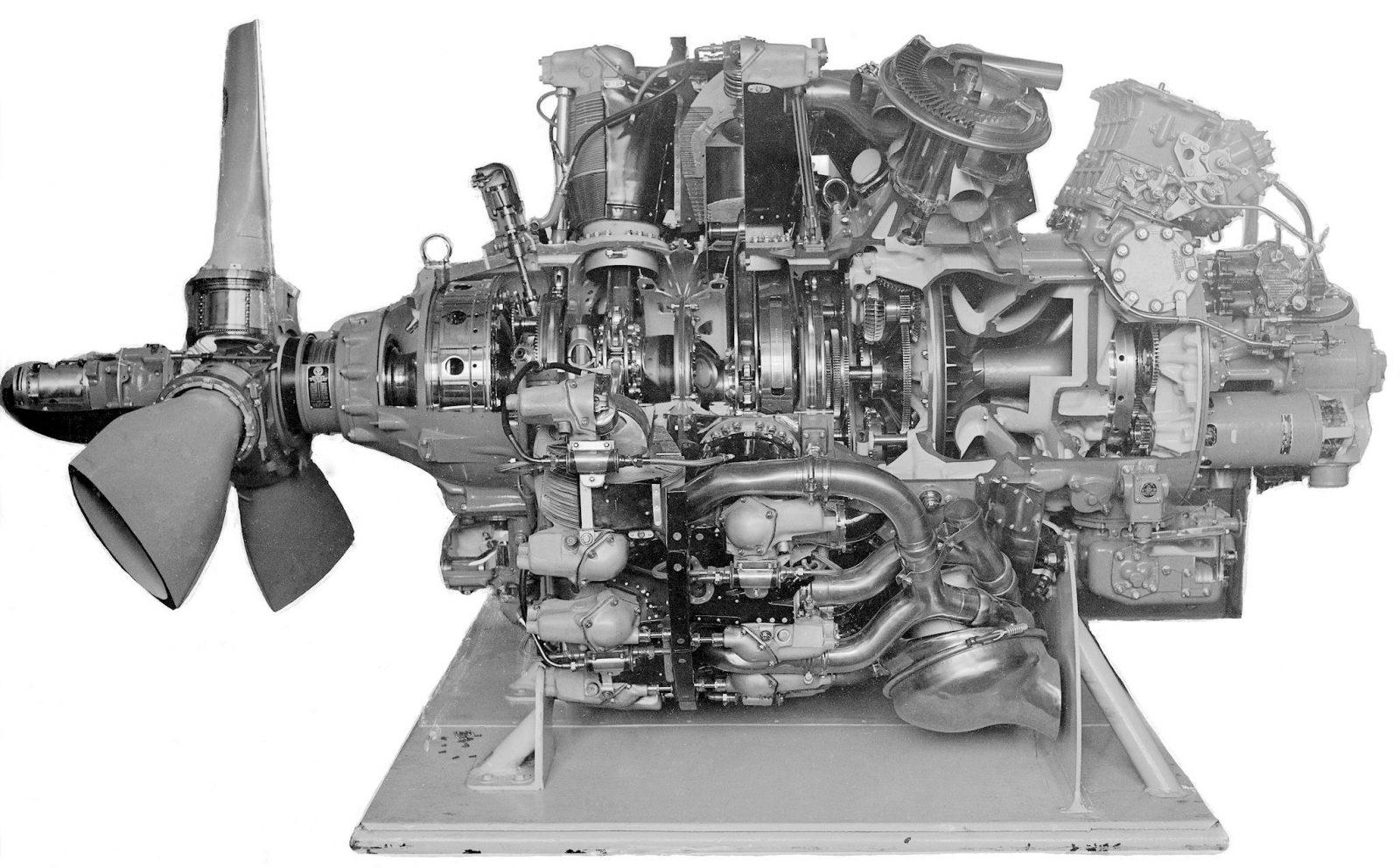 Самый мощный авиационный двигатель