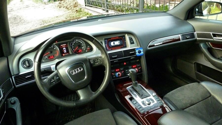 Audi А6 С5 салон.