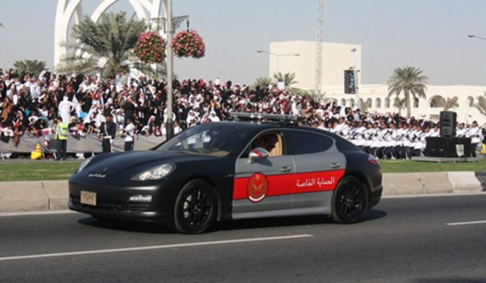 Порше Панамера, полиция Катара