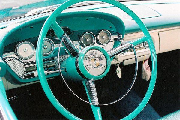 Edsel 1958 руль