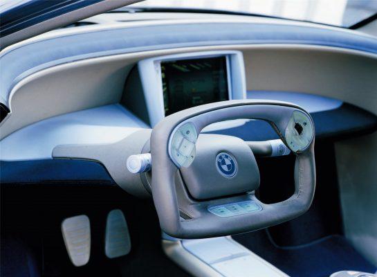 руль 2001 BMW Z22 Concept