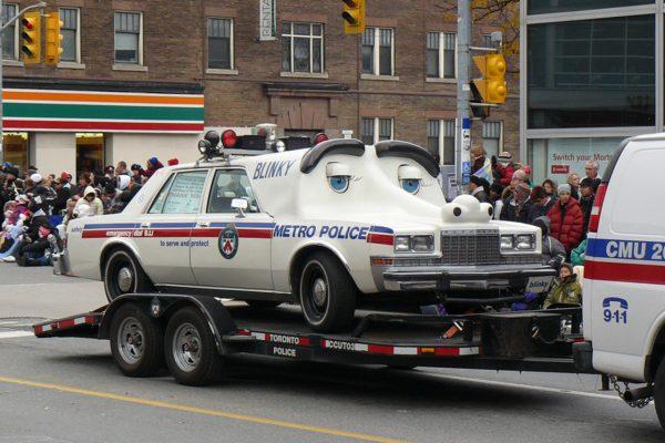 Рейтинг самых странных полицейских машин со всего мира