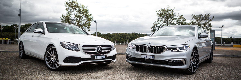 BMW или Mersedes.
