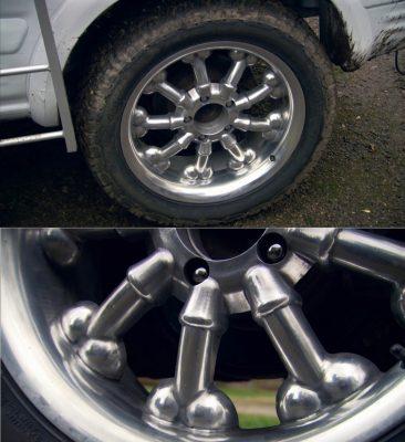 Самые нелепые колёса автомобилей