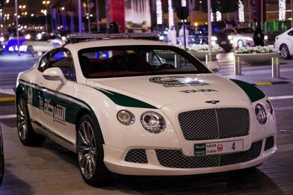 Бентли Континенталь GT, Объединённые Арабские Эмираты
