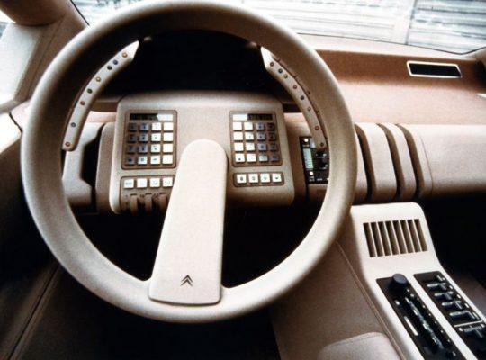 руль 1981 Citroen Xenia concept