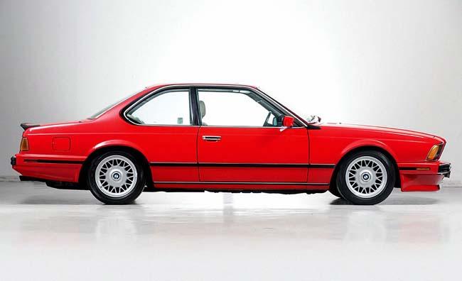 BMW M6 E24.