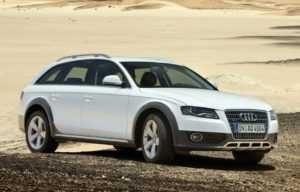 Audi A4 Allroadрестайлинг.