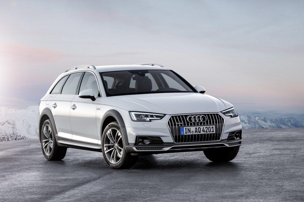 Audi A4 AllroadQuattro обновлённый.
