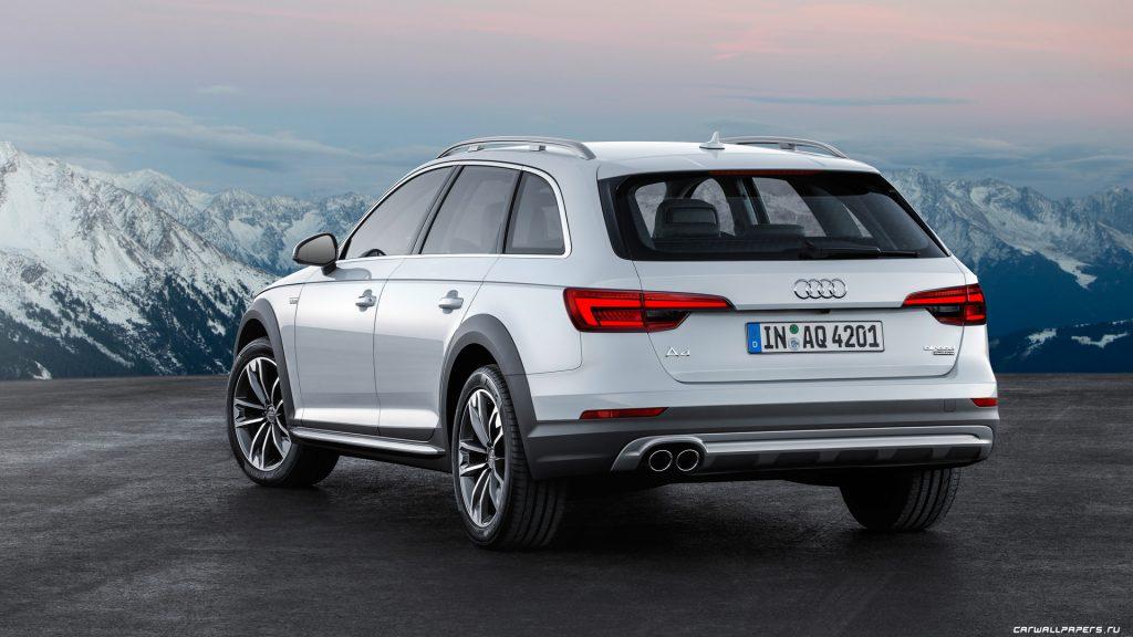 Audi A4 AllroadQuattro вид сзади.