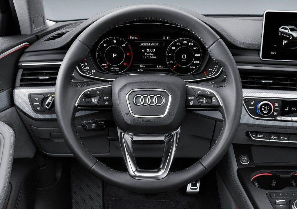 Audi A4 AllroadQuattro внутри.