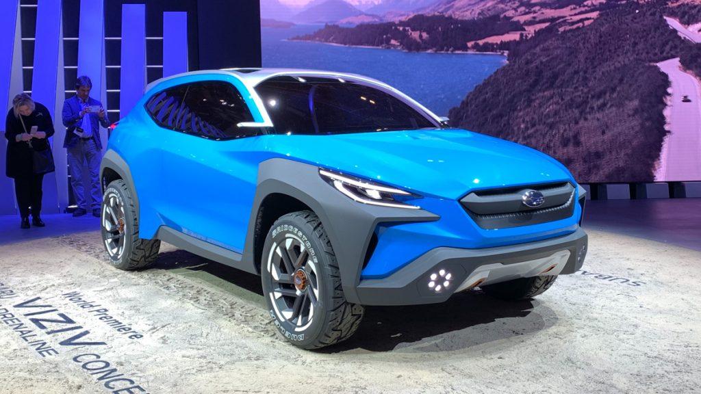 Subaru Viziv Adrenaline Concept.