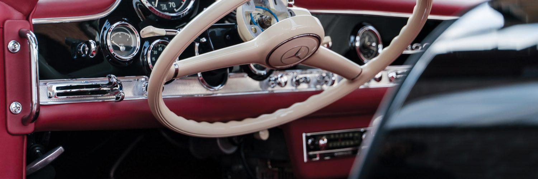 руль Mercedes-Benz 300 SL