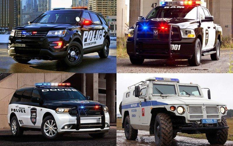 Рейтинг самых крутых полицейских машин со всего мира