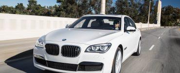 BMW 740Ld.