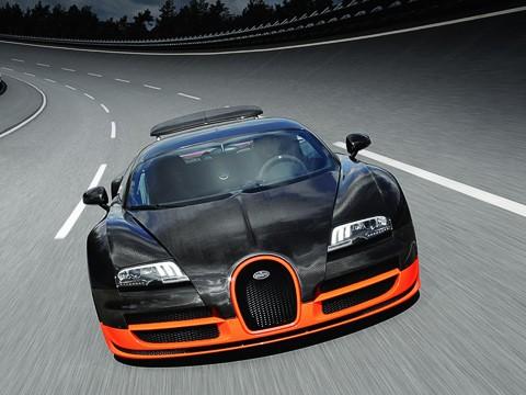 Максимальная скорость Bugatti