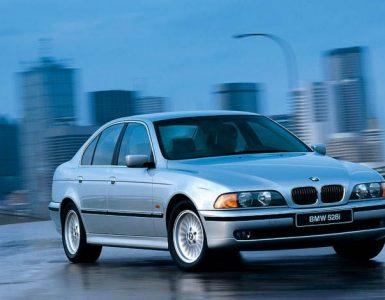 BMW E39 540.