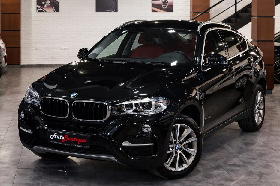 BMW X6 xDrive30d чёрный.
