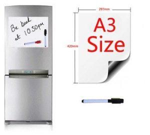 Магнитная доска для записей на холодильнике