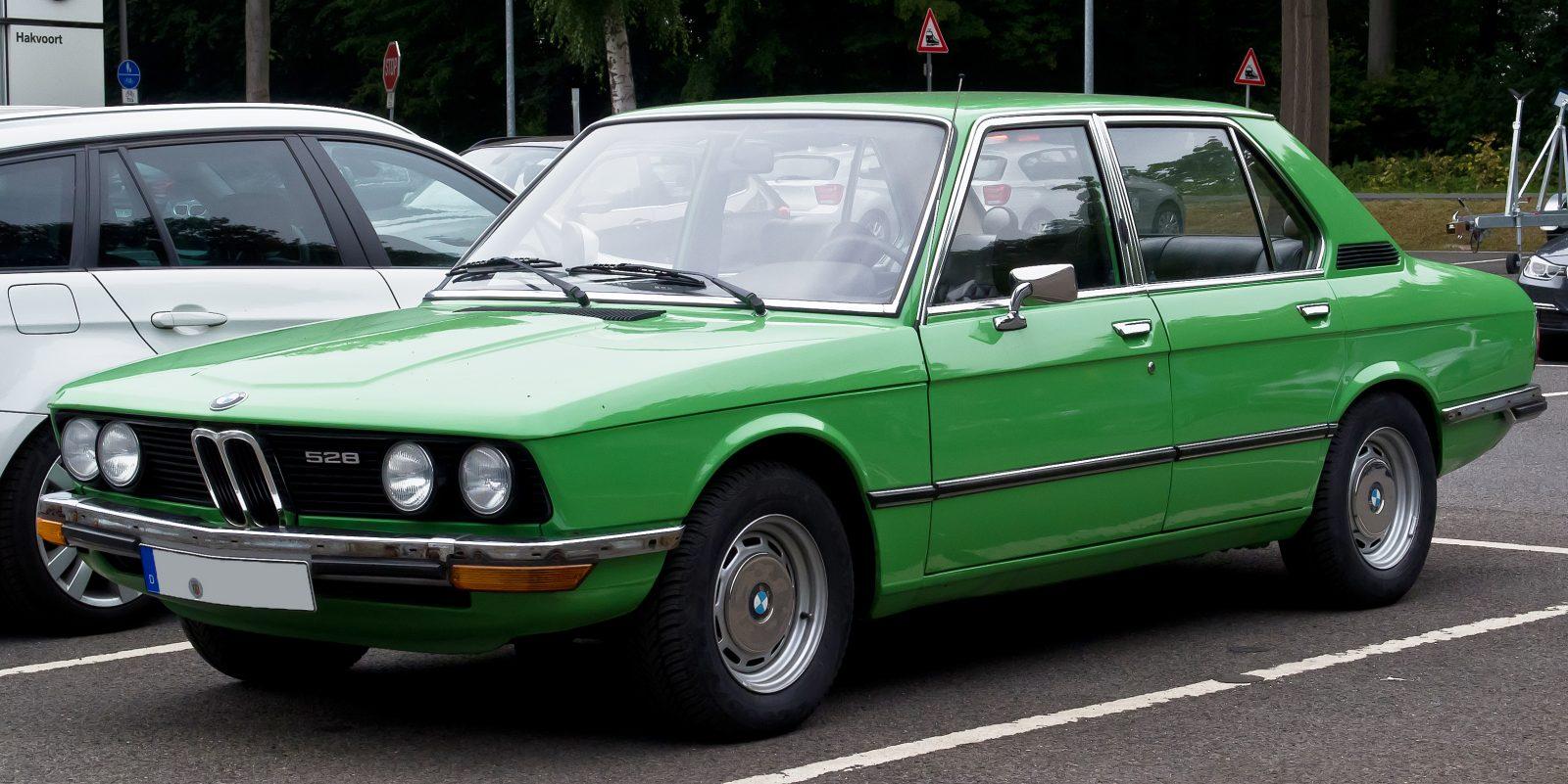 BMW E12 – начало легенды под номером пять