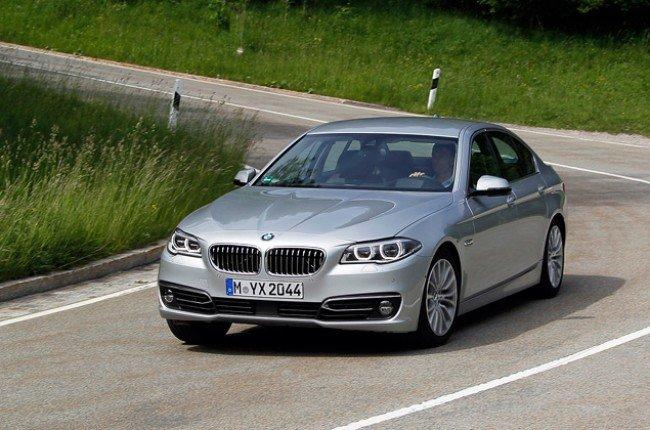 BMW M5 F10 рестайлинг.