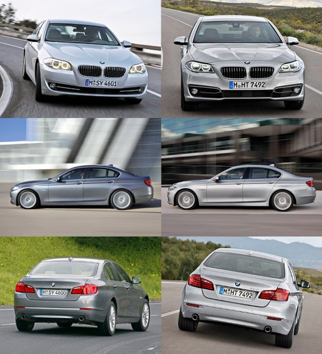 BMW M5 F10 после обновления.