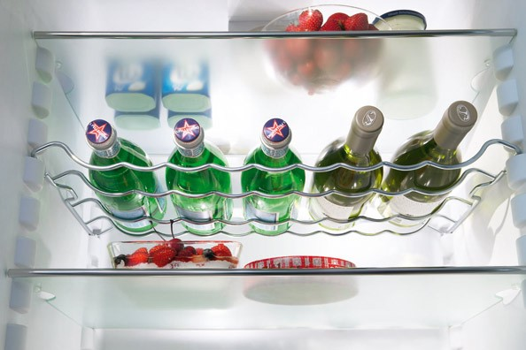 Полка для вин в холодильнике
