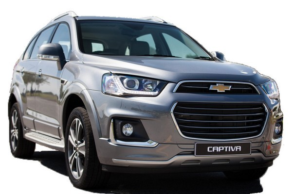 Chevrolet Captiva вид спереди