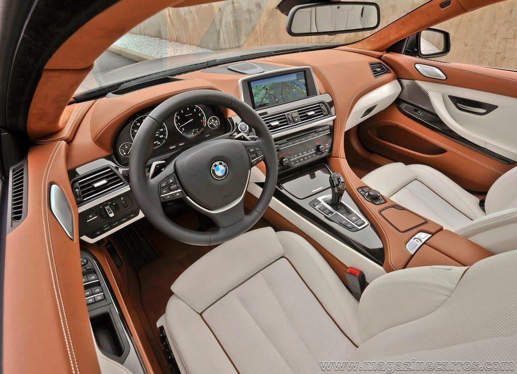 BMW 640i салон.