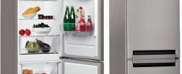 Модельный ряд двухкамерных холодильников Whirlpool
