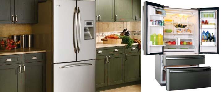 Лучшие холодильники Side by Side