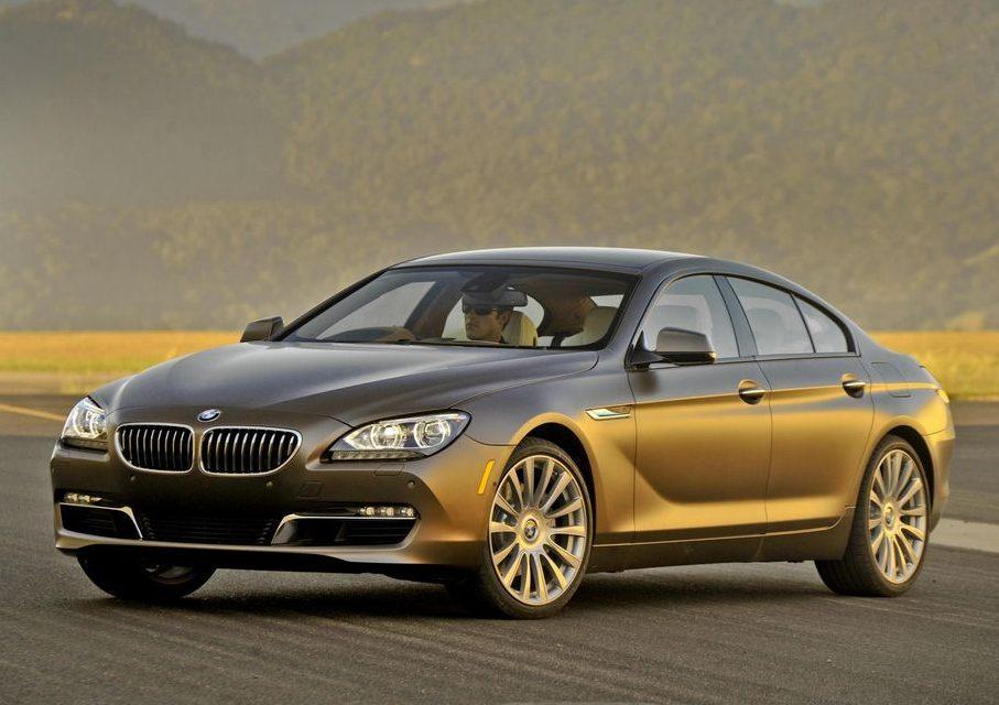 BMW 640i.
