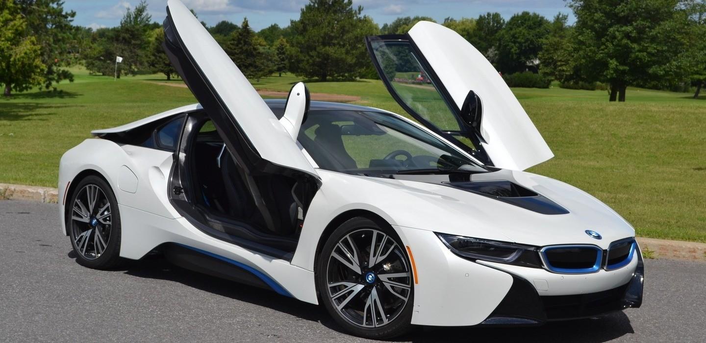 Авто будущего уже сегодня - футуристичный BMW I8
