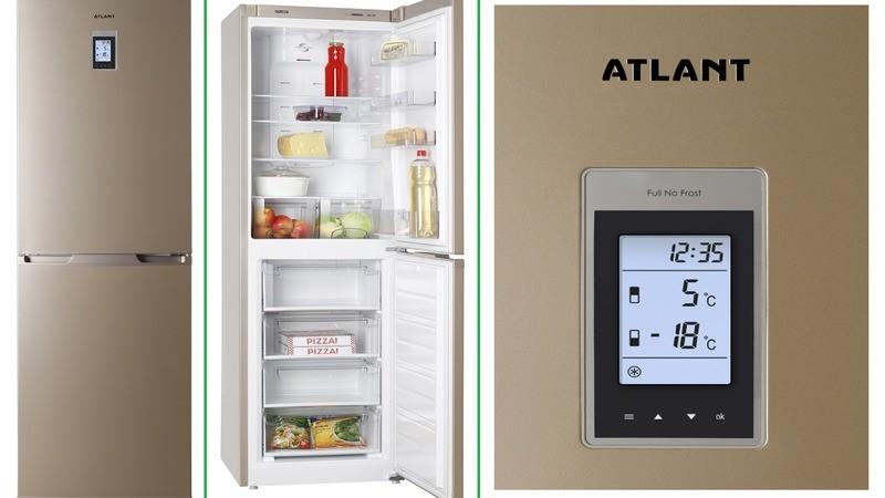 модели холодильников с опцией
