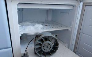намерзание льда в холодильнике ноу фрост