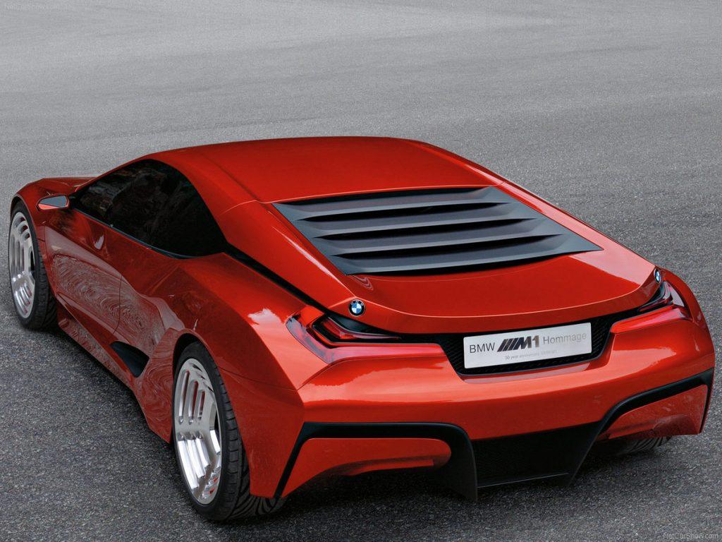 BMW M1 концепт.