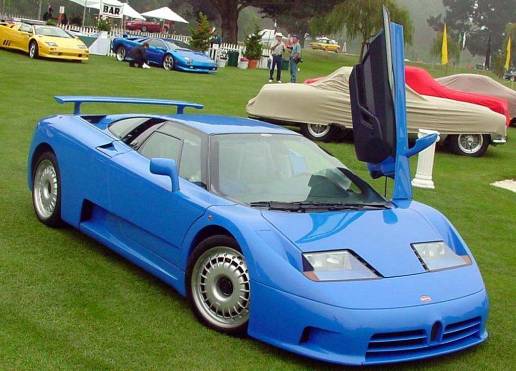 Bugatti EB 110 GT.