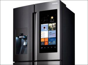 Холодильник самсунг с сенсорной дверью