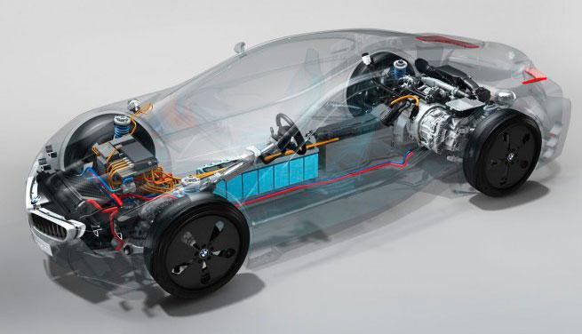 BMW i8 – почти автомобиль будущего