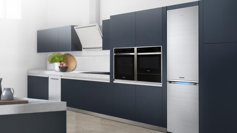 Какие размеры у встроенного холодильника