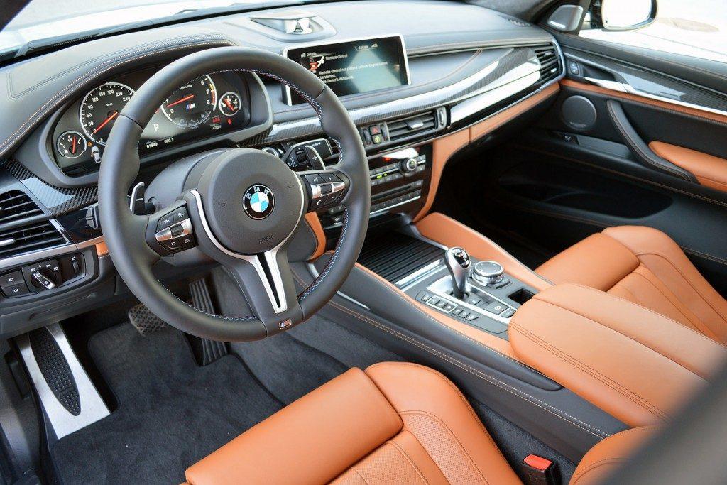 BMW X6 M салон.