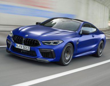 BMW M8 – мощнейшая серийная новинка