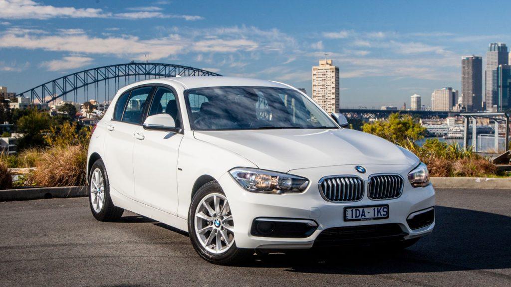 BMW 118i.