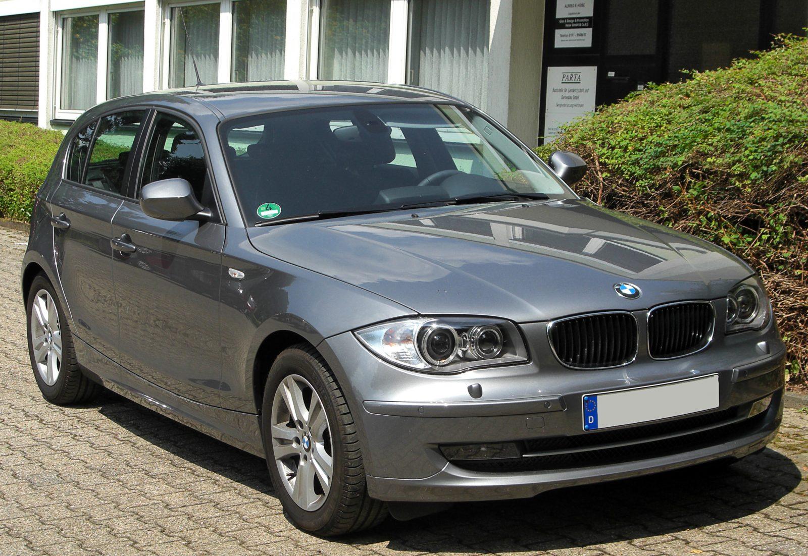 Первая BMW 1-Series – она же E81, E82, E87 и E88