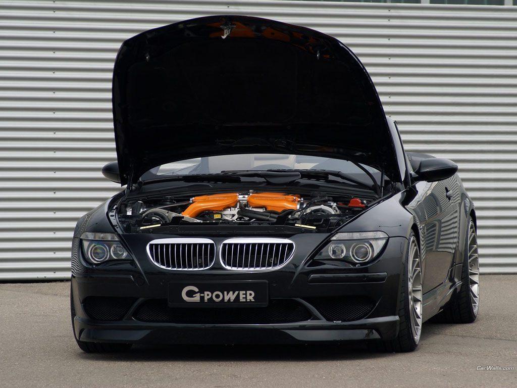 G-Power BMW M6 Hurricane RR под капотом.